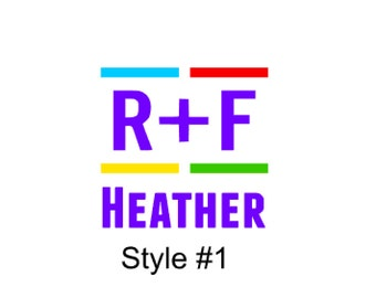 R+F Colors Decal, Rodan + Fields Decal, R + F Decal, R + F, R+F