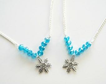 Flurry of flakes necklace