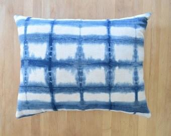 Linen Shibori Pillow