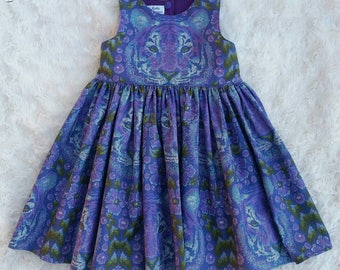 Tea Party dress 'Tiger'
