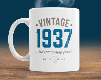 80th Birthday, 1937 Birthday, 80th Birthday Gift, 80th Birthday Idea, Vintage, 1937, Happy Birthday, 80th Birthday Gift for 80 year old