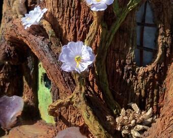 Fairy House night-light illuminated with LEDs, miniature house, fantasy FH004