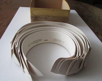 7 Vintage Men's Arrow Collars New Old Stock NOS Antique Collars