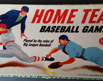 1948 Home Team Baseball Board Game