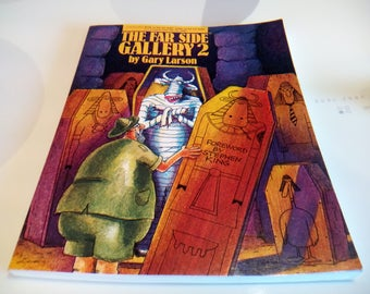 Vintage 1986 The Far Side Gallery 2 Book by Gary Larson