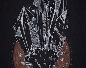 Sinking Crystals