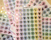 Not Perfect Pastel & Silver Foil Planner Stickers