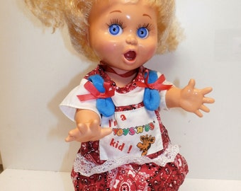 1990 Baby Face Doll So Surprised Suzie #2