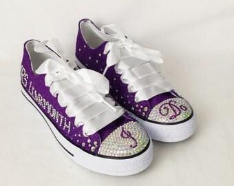 Purple wedding shoes Etsy