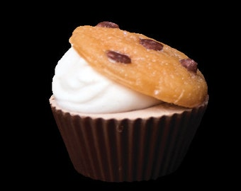 Cupcake soap Chocolate Chip Cookie