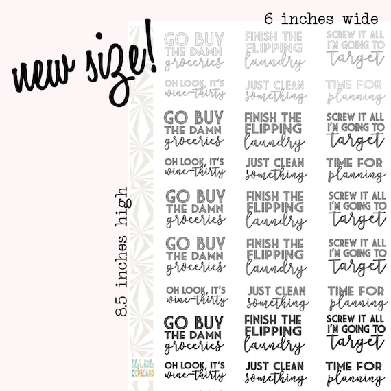 Weekly task stickers in neutral colors to do list phrase for List of neutral colors