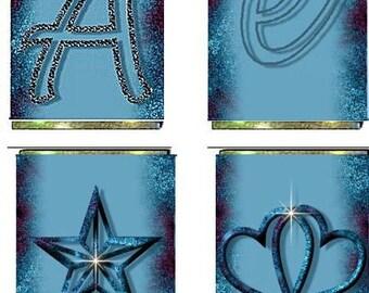 Candy Cake Centerpiece Templates - Blue Moss, Wedding, Anniversary, Fundraiser, Centerpiece
