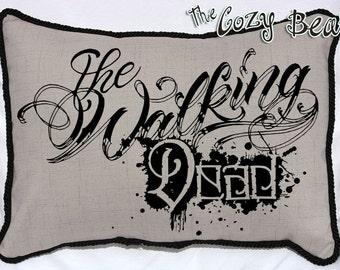 The Walking Dead Handmade Throw Pillow
