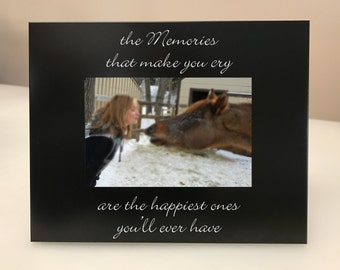Memories that Make You Cry Picture Frame