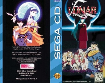 Lunar - Eternal Blue manual
