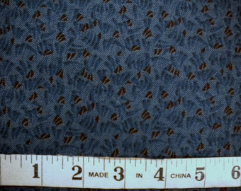 1 YD - Kindred Spirits (blue flying wedge) by Windham Fabrics