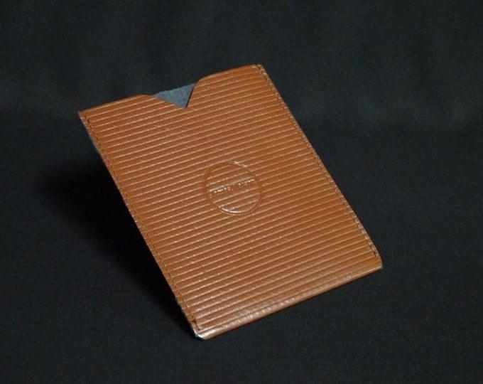 Passport Sleeve - Brown Stripe (1of1) - Kangaroo leather with optional RFID chip blocking - Handmade - James Watson