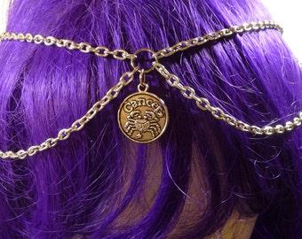 zodiac head chain (Cancer)