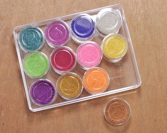 a set micro marbles,glass microbeads for caviar nails,glass miniature metallic sprinkles,now available Supplies