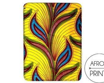 AFROOPRINTS | Tablet in African Wax XXVIII tissue case