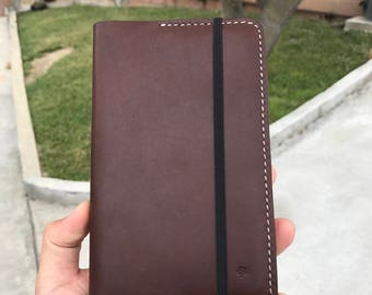 Horween notebook cover + notebook