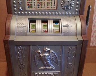 1970 Waco Electronic Table Top Slot Machine *Needs work*