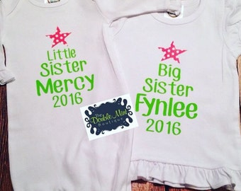 Big Sister/Little Sister Christmas Sets