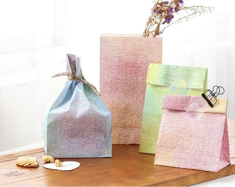 wedding paper bag , gift packaging, candy bag, party bags ,a set of 3 pcs