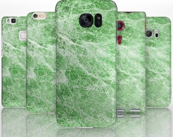 BG0078 Plastic hard case print, personalized/ custom/ personalised phone protective case green and white pattern