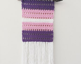 Crochet Boho Wall Hanging