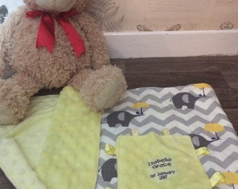 Soft and snuggly baby blanket