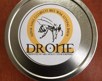 Alpha Male Complete Bees Wax Styling Balm, skin conditioning, hair care, beard, styling, natural, male, bees wax