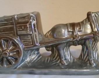 084 - 1720 Donkey with Wagon
