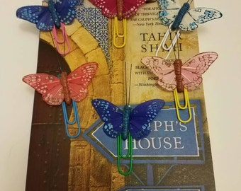 Beautiful Butterfly Bookmark / Page Marker / page holder