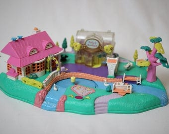 Polly pocket magnetic, blue bird, polly pocket, miniature games 1996