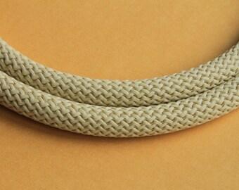 MADE iN EUROPE 1 yard of climbing cord, nylon climbing cord, 10mm round climbing cord, neutral climbing cord (93496)