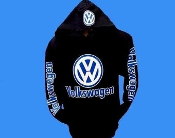 Volkswagen Pullover SWEATSHIRT (NEW) Adult POPULAR Hoodies