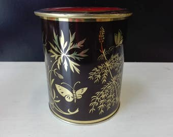 Vintage Butterfly tin