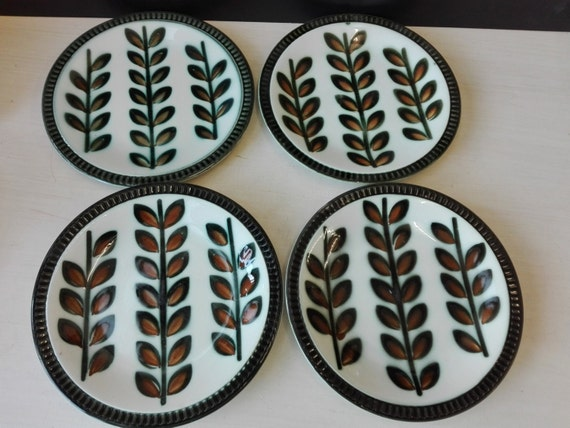 Boch belgium - Rambouillet- lunch plates - set of 4