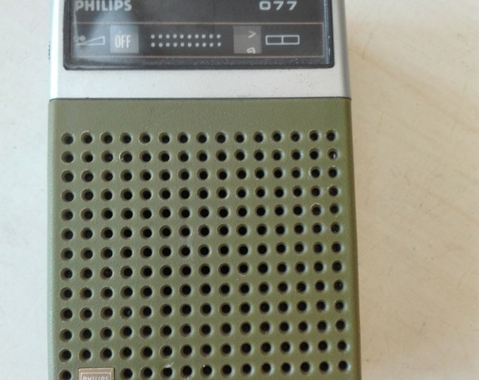 Philips 077 , 90rl 077 Pocket Radio