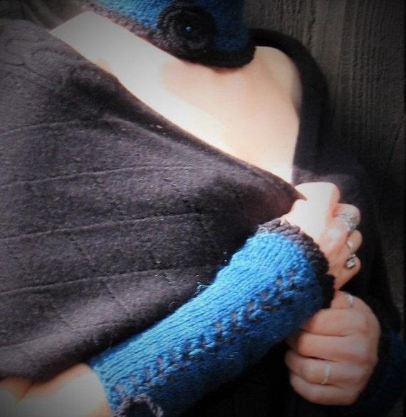 Knitting PATTERN Warmers Lace Crochet TUTORIAL Victorian ...
