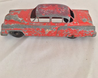 Vintage Tootsietoy Diecast Collectible Car, Chrysler Stamped 29, Collectible Vintage Toy Car, Made in the USA