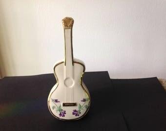 Vintage Moyer Guitar wall pocket or ceramic vase