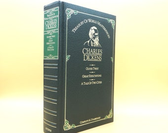 Charles Dickens - Oliver Twist, Great Expectations, A Tale of Two Cities - Treasury of World Masterpieces