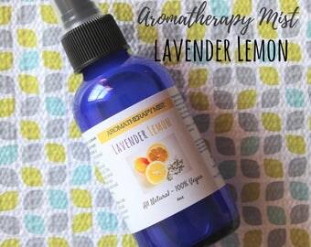 Essential Oil Spray, Aromatherapy Spray, Room Spray, Eco Friendly Linen Spray, Car Air Freshner, Lavender Essential Oil, Lemon Essential Oil