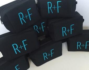 Monogrammed R+F (Rodan and Fields) Cosmetic Makeup Bag - MEDIUM