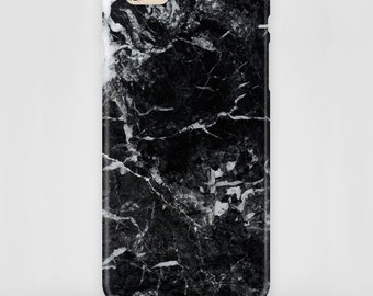 Mobile phone case Marble black