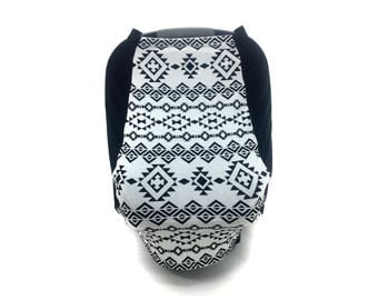 Car Seat Cover - Tribal - Aztec Baby - Leisure Collection