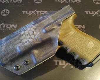 Glock 19/23/32-Custom Kydex IWB Holster for Glock 19/23/32. Hand Made in the USA