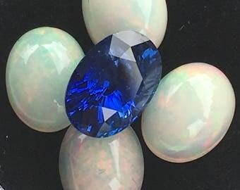 Natural Royal Blue Sapphire 2.90cts